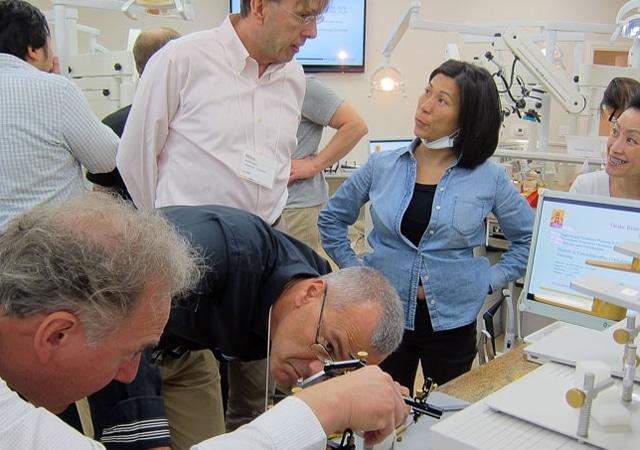 hands on group dental education program